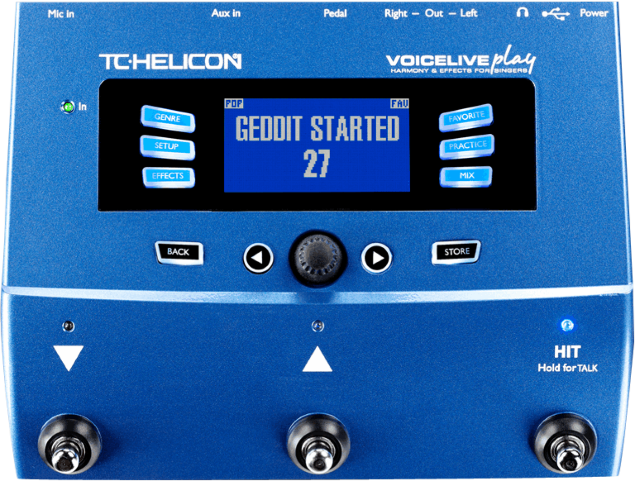 TC Helicon VOICELIVE PLAY Vocal FX Processor