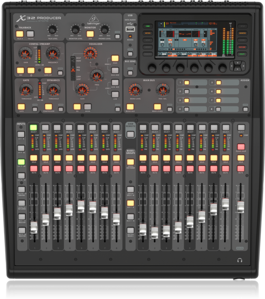 Behringer X32 PRODUCER Mixer Digitale 40 Input Midas Pre