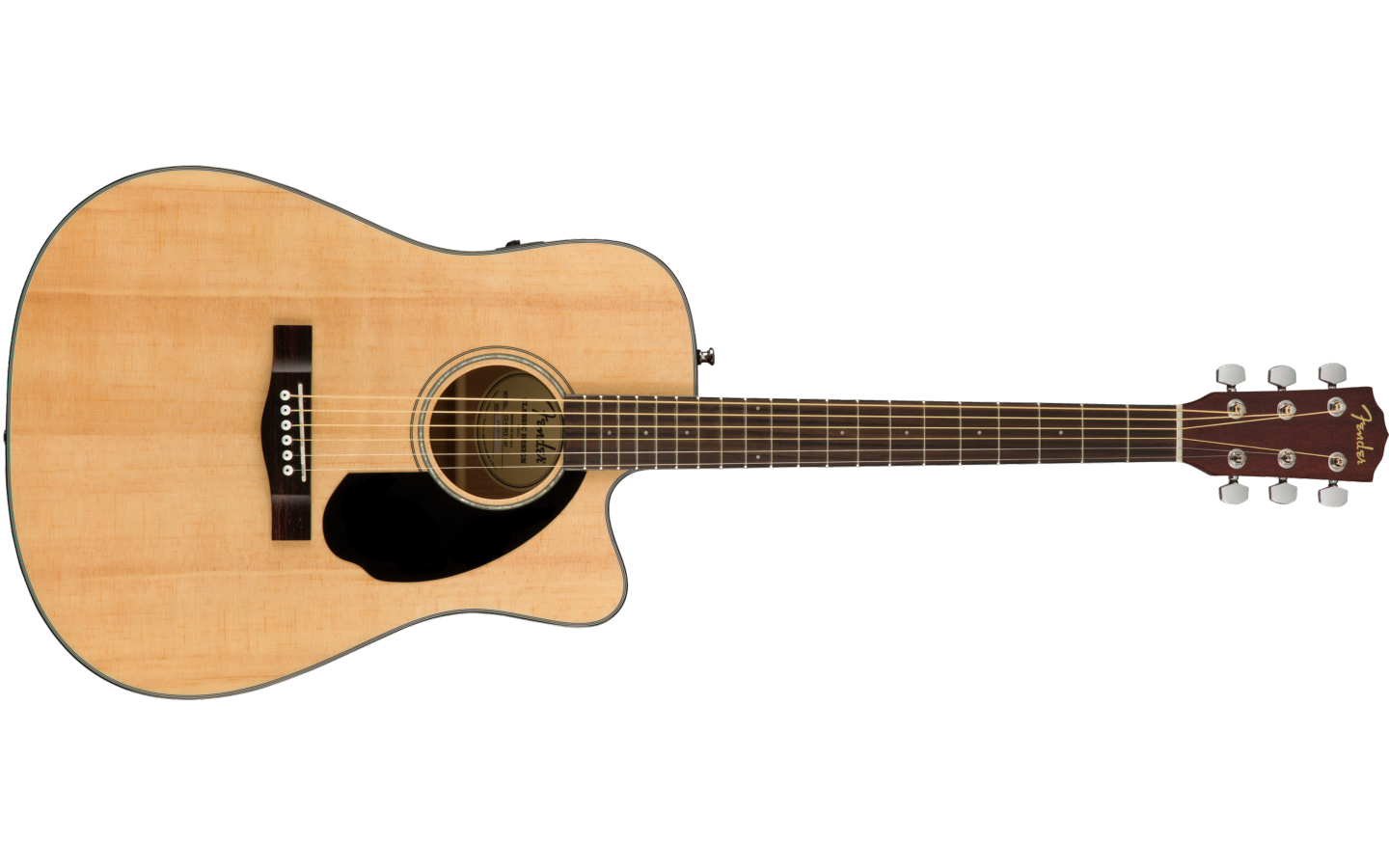 Fender CD-60SCE Dreadnought Wln Natural