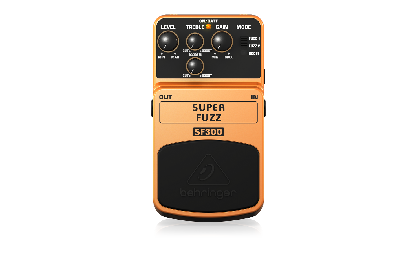 Behringer SF300 Super Fuzz 3-Mode Fuzz Distortion Pedal