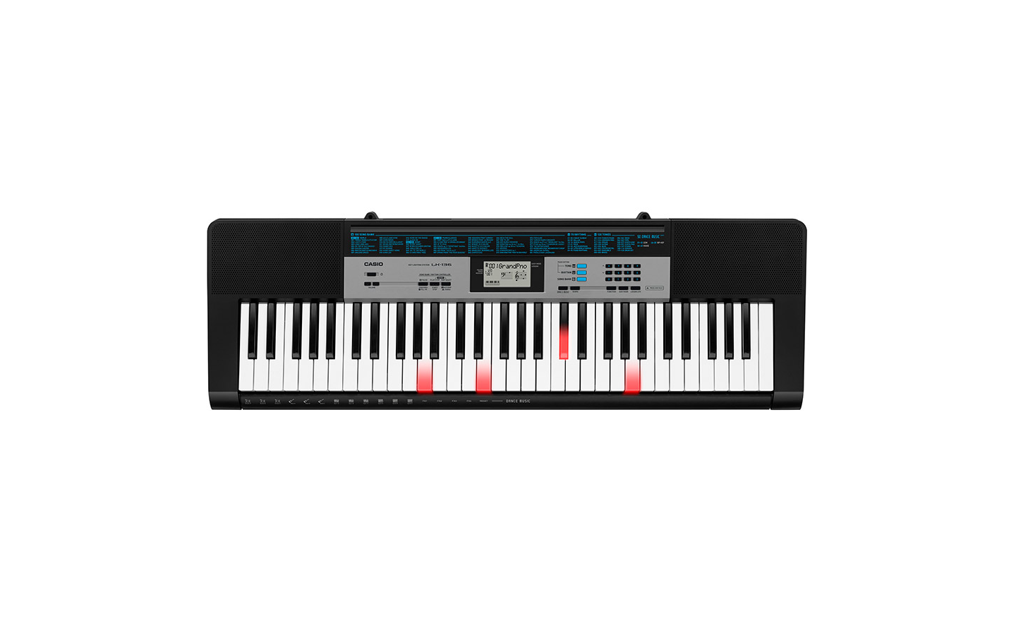 LK136 Tastiera 61 tasti luminosi stile piano, poli.32 note CASIO