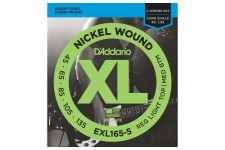 EXL165 5 BASS XL 45-135 LONG SCALE 5 STR DADDARIO