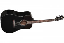 Fender CD-60 Dread V3 DS, Blk WN
