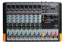 MF48 B/MP3 MIXER 8 CH  BLUETOOTH  MP3 TECHNOSOUND